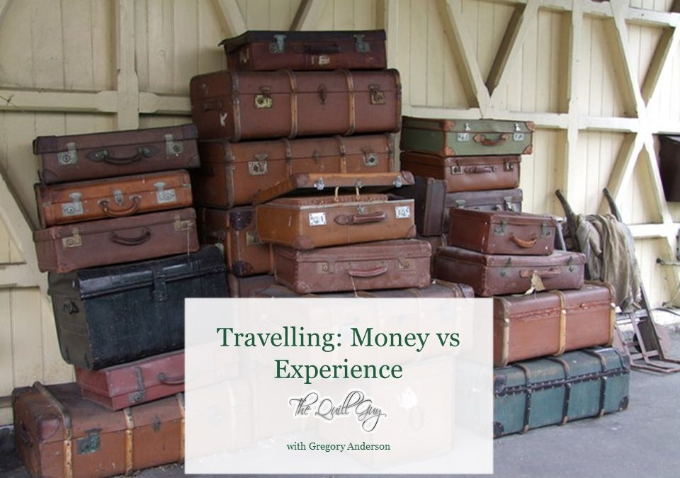 Travelling money vs experience