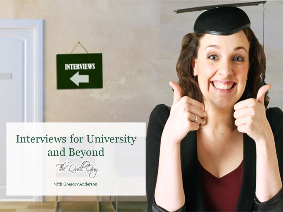 Interviews for University and Beyond
