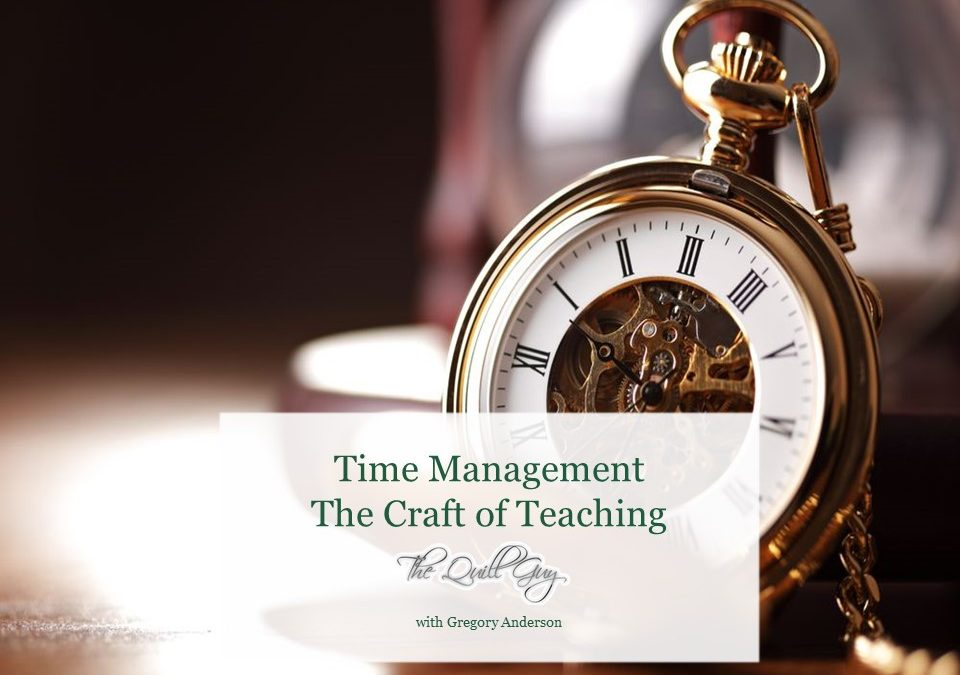 Time Management: Thoughts and Advice September 2017