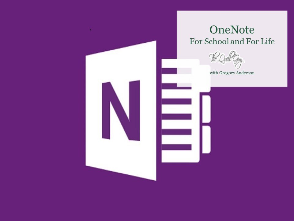 Using OneNote in The Classroom to Support All Students: An Eight Minute Summary of Our Work This Year