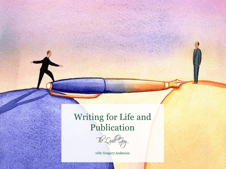 Writing for Life and Publication