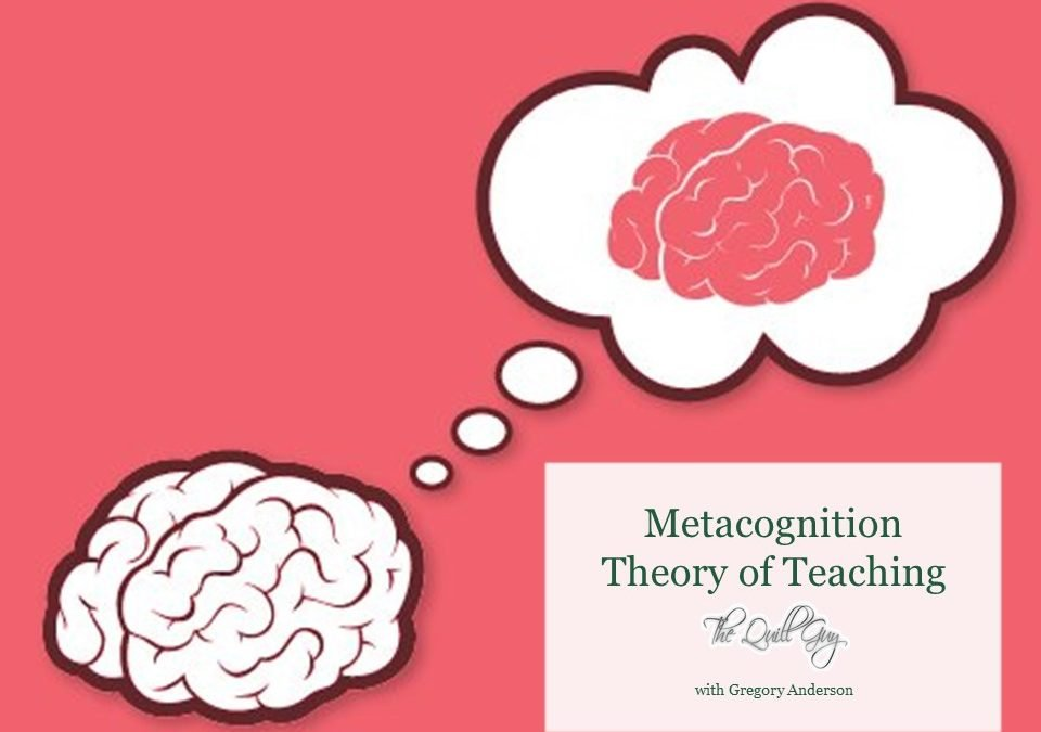 Metacognition – Guiding students to sense the right time to use strategies